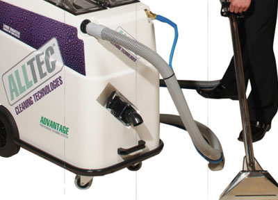 carpet cleaning vacuum system